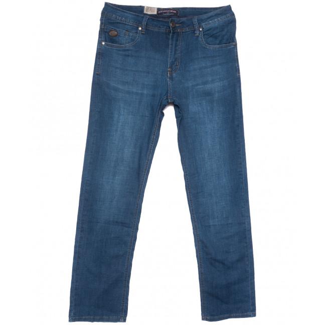 9499 God Bаron джинсы мужские полубатальные синие весенние стрейчевые (32-38, 8 ед.) God Baron: артикул 1109085