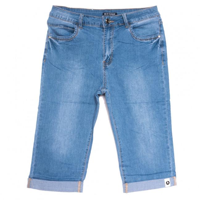 9526 LDM шорты джинсовые женские батальные синие стрейчевые (31-38, 6 ед.) LDM: артикул 1109351