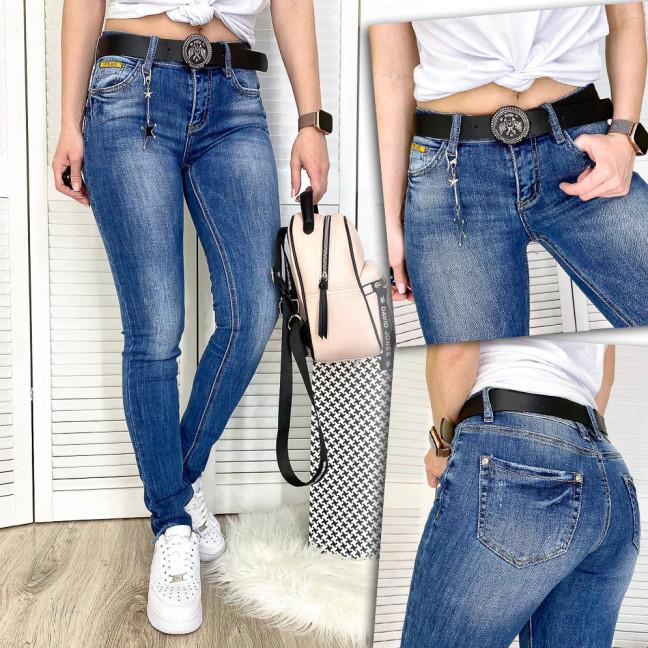8180 Vanver джинсы женские с царапками весенние стрейчевые (25-30, 6 ед.) Vanver: артикул 1109329