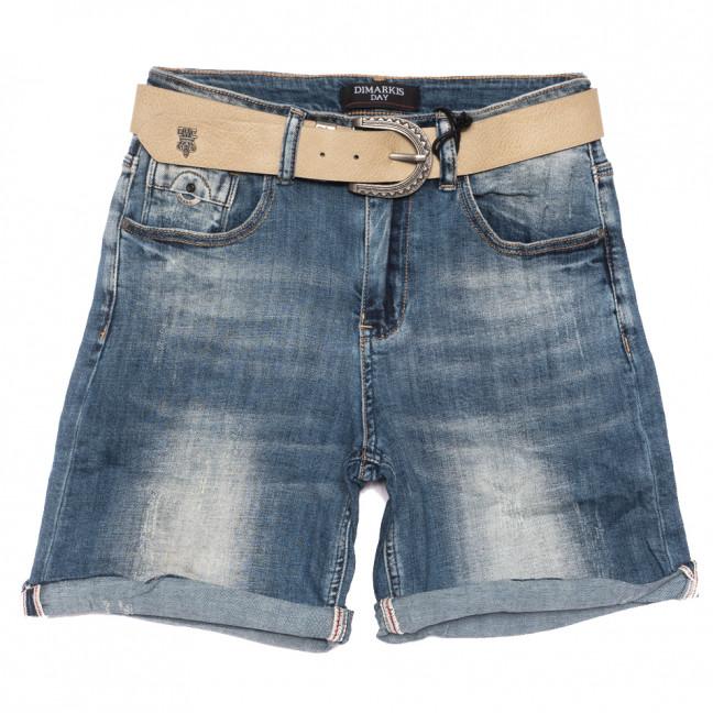 6150 Dmarks шорты джинсовые женские синие стрейчевые (25-30, 6 ед.) Dmarks: артикул 1108576