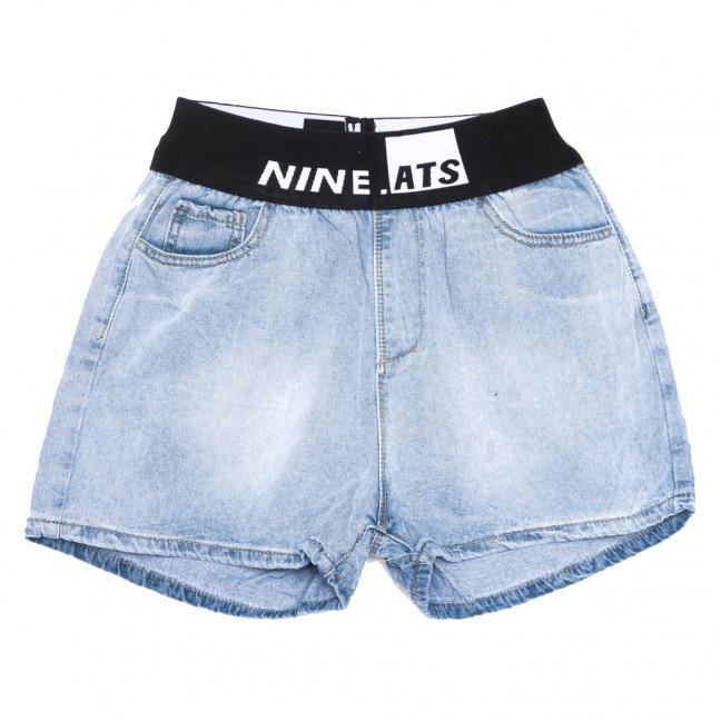 3750 New jeans шорты джинсовые женские синие коттоновые (25-30, 6 ед.)  New Jeans: артикул 1108993