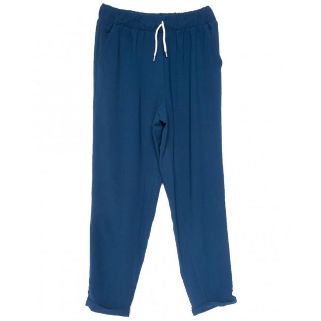 0222 морская волна Exclusive брюки женские спортивные батальные летние стрейчевые (50-54, 3 ед.) Exclusive: артикул 1109489
