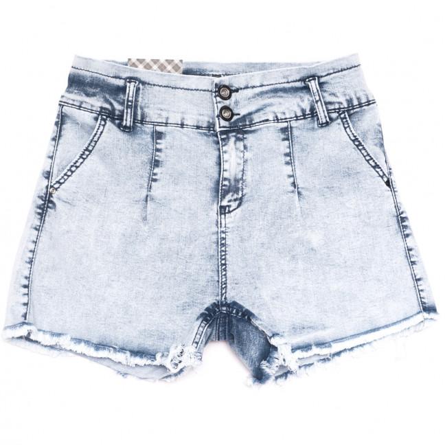 0809 Red Moon шорты джинсовые женские синие стрейчевые (25-28, 6 ед.) Red Moon: артикул 1109154