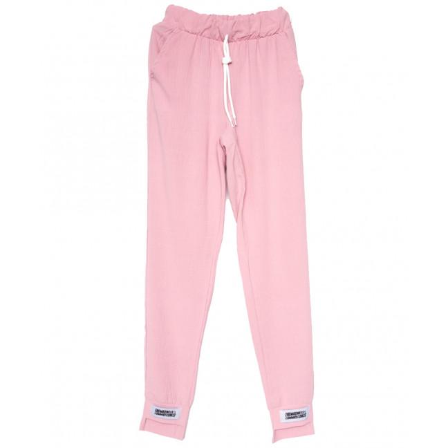 0214 розовые Exclusive брюки женские спортивные летние стрейчевые (42-48,евро, 4 ед.) Exclusive: артикул 1109523