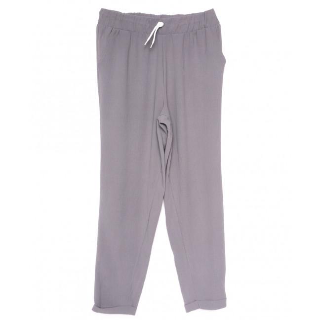 0222 серые Exclusive брюки женские спортивные батальные летние стрейчевые (50-54, 3 ед.) Exclusive: артикул 1109492