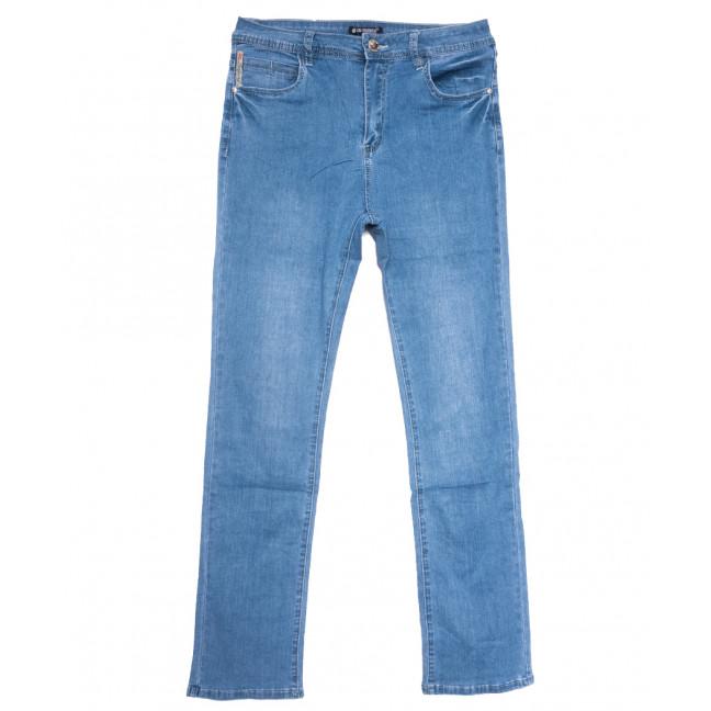 9528 LDM джинсы женские батальные синие весенние стрейчевые (31-38, 6 ед.) LDM: артикул 1109358