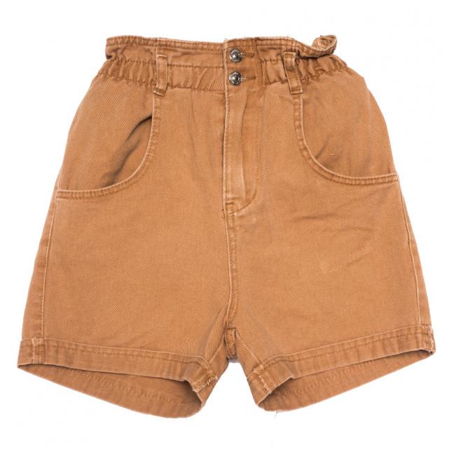 8013 коричневые шорты джинсовые женские коттоновые (25-32, 8 ед.) Джинсы: артикул 1109193