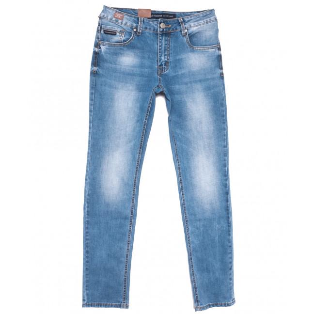 9450 God Bаron джинсы мужские синие весенние стрейчевые (30-38, 8 ед.) God Baron: артикул 1109076