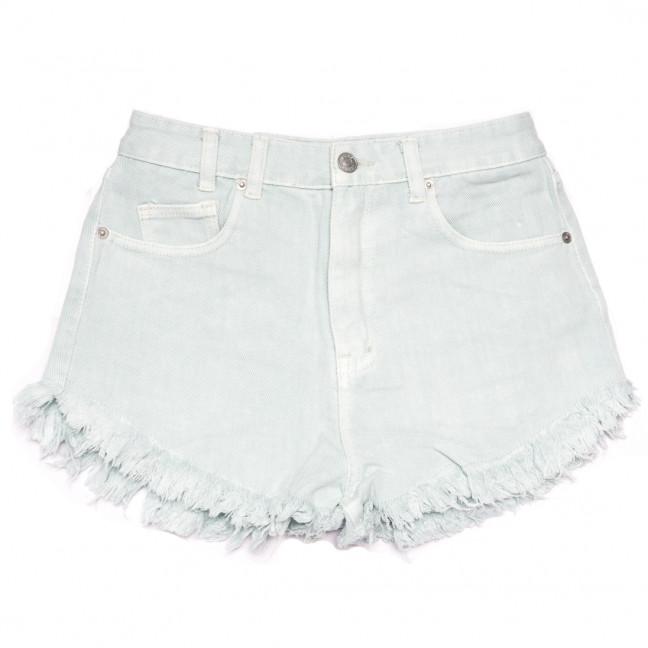 9032-12 ментоловые Saint Wish шорты джинсовые женские коттоновые (25-30, 6 ед.) Saint Wish: артикул 1108242