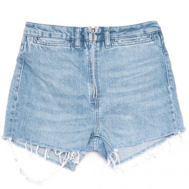 0223 шорты джинсовые женские на змейке синие коттоновые (25-33, 5 ед.) Джинсы: артикул 1109194