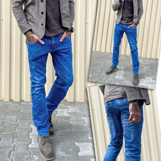 5587 Black Lee джинсы мужские синие весенние стрейчевые (30-36, 7 ед.) Black Lee: артикул 1109258