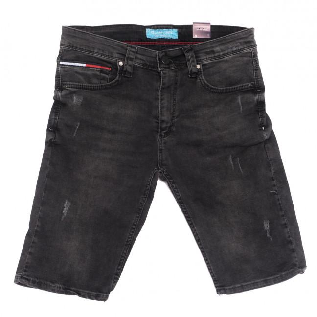 6672 Blue Nil шорты джинсовые мужские с царапками серые стрейчевые (29-36, 8 ед.) Blue Nil: артикул 1108730
