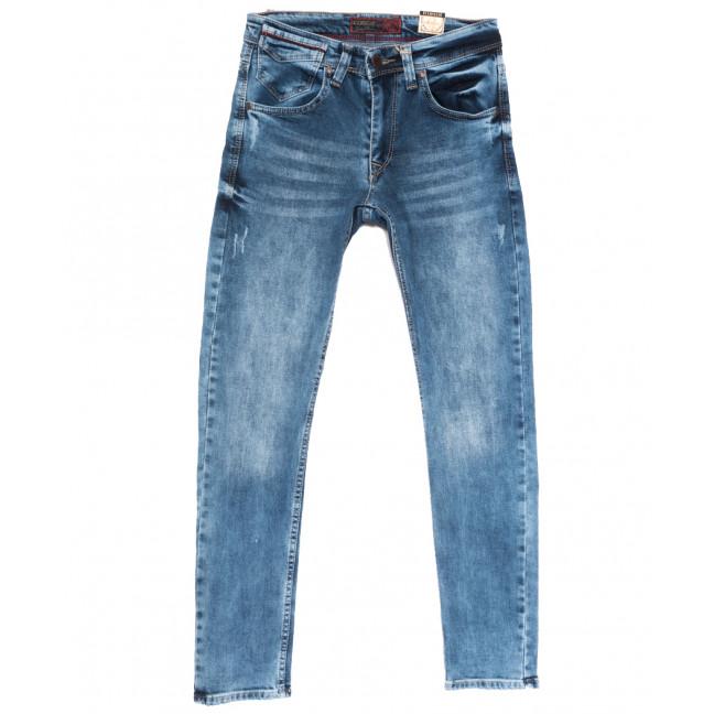 6795 Corcix джинсы мужские с царапками синие весенние стрейчевые (29-36, 8 ед.) Corcix: артикул 1108721