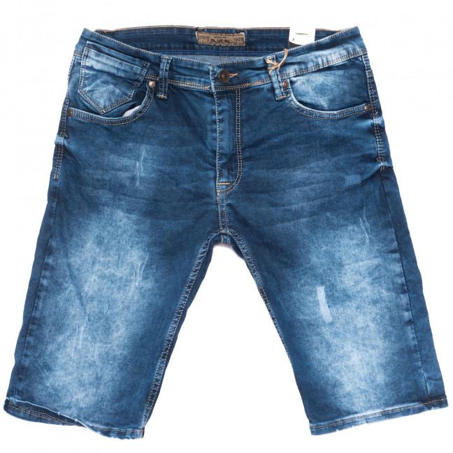 6511 Blue Nil шорты джинсовые мужские полубатальные синие стрейчевые (32-40, 8 ед.) Blue Nil: артикул 1109464