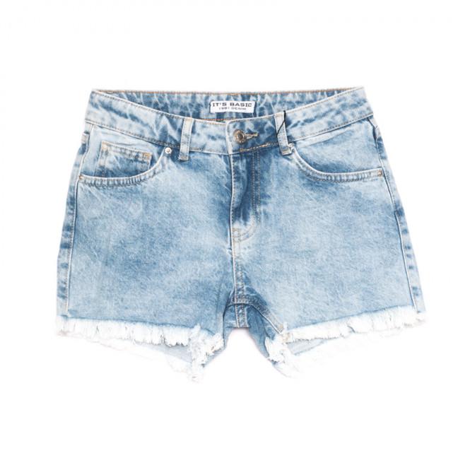 1249 Mavi Its Basic шорты джинсовые женские синие коттоновые (34-42,евро, 6 ед.) Its Basic: артикул 1108432