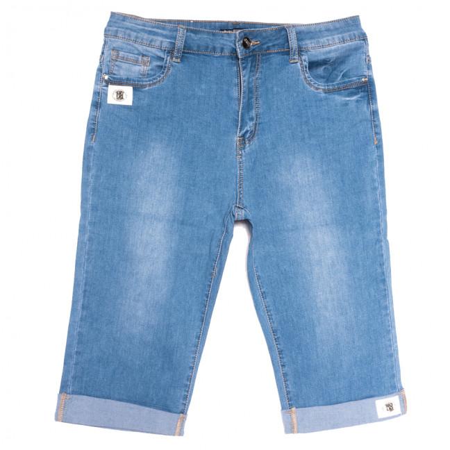 9525 LDM шорты джинсовые женские батальные синие стрейчевые (32-42, 6 ед.) LDM: артикул 1109350