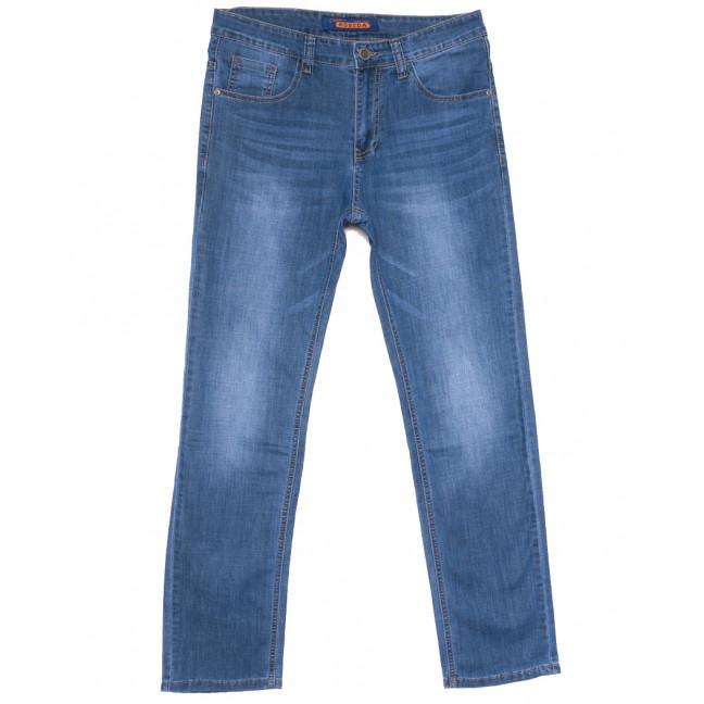 8037 Pobeda джинсы мужские полубатальные синие весенние стрейчевые (32-40, 8 ед.) Pobeda: артикул 1109664