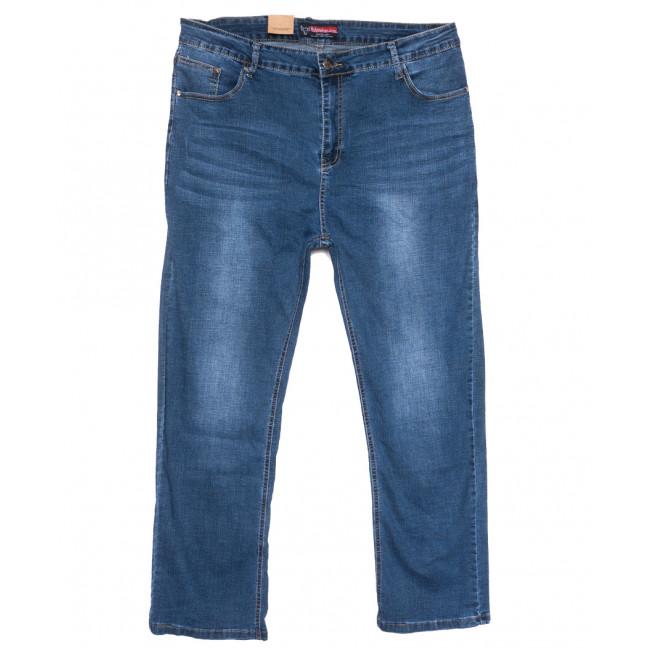 0109 Bullmad джинсы мужские полубатальные синие весенние стрейчевые (32-42, 8 ед.) Bullmad: артикул 1110050