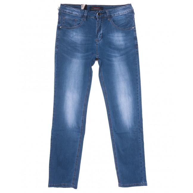 16011 Feerars джинсы мужские полубатальные синие весенние стрейчевые (32-40, 8 ед.) Feerars: артикул 1109630