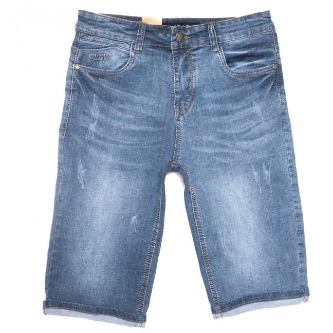 9309 T-Star шорты джинсовые мужские с царапками синие стрейчевые (31-38, 8 ед.) T-Star: артикул 1109835