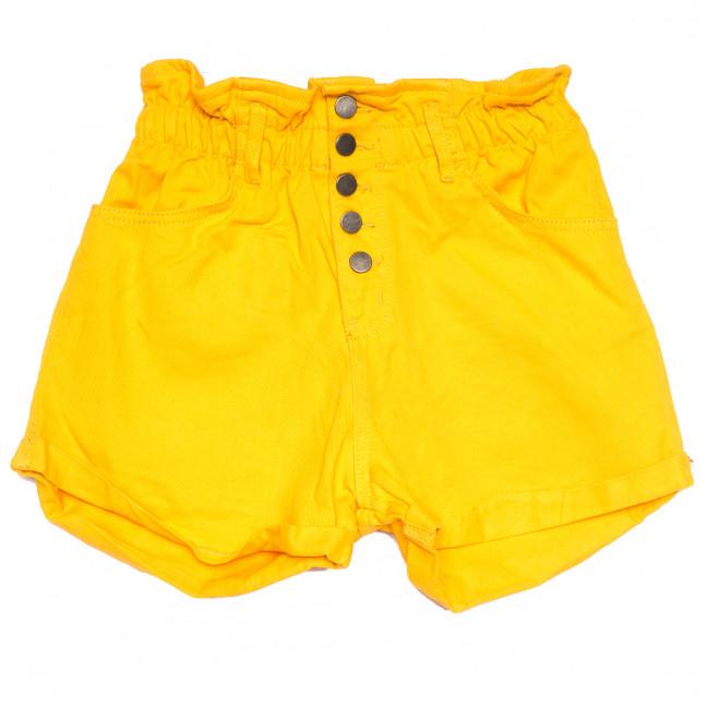 11547 желтые Defile шорты джинсовые женские коттоновые (34-40,евро, 6 ед.) XRAY: артикул 1110428