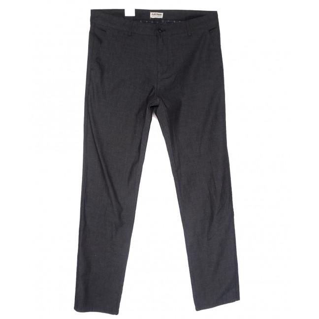 0903 Plus Press брюки мужские полубатальные темно-серые весенние стрейчевые (32-40, 8 ед.) Plus Press: артикул 1110010