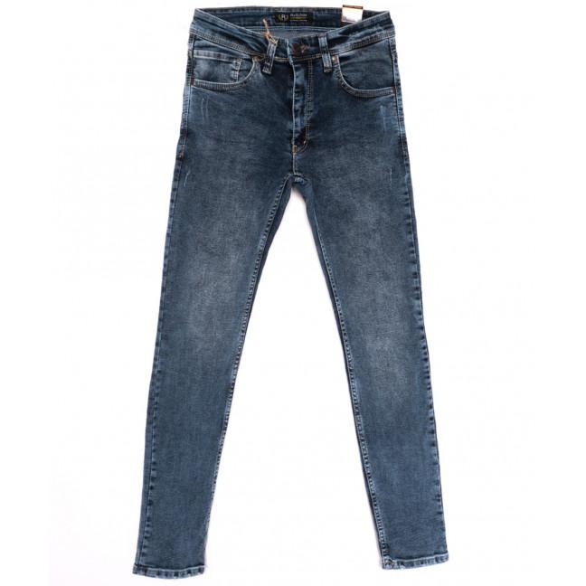 6876 Redcode джинсы мужские с царапками синие весенние стрейчевые (29-36, 8 ед.) Redcode: артикул 1110257