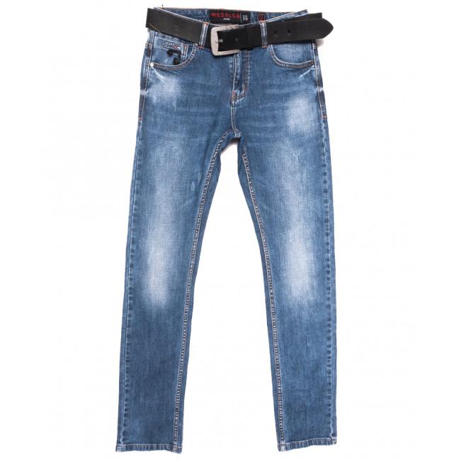 9618 Resalsa джинсы мужские с царапками синие весенние стрейчевые (29-36, 7 ед.) Resalsa: артикул 1109734