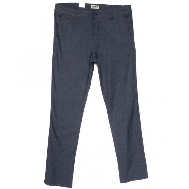 0910 Plus Press брюки мужские батальные темно-синие весенние стрейчевые (34-42, 8 ед.) Plus Press: артикул 1110012