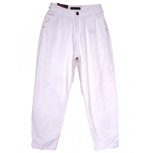 0820 белые Red Moon джинсы-баллон весенние коттоновые (25-30, 6 ед.) Red Moon: артикул 1110217
