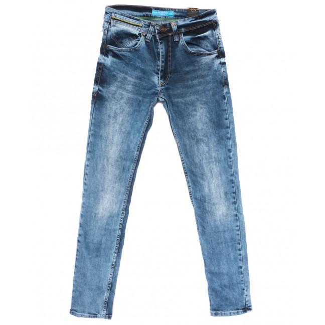 6790 Blue Nil джинсы мужские с царапками синие весенние стрейчевые (29-36, 8 ед.) Blue Nil: артикул 1109913