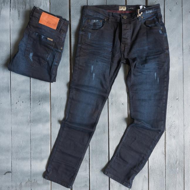 3853 Blue Nil джинсы мужские с царапками весенние стрейчевые (29-36, 7 ед.) Blue Nil: артикул 1109418