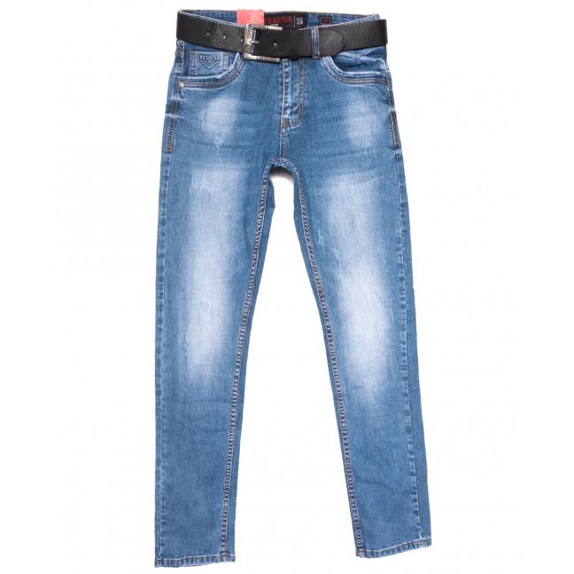 8086 Resalsa джинсы мужские с царапками синие весенние стрейчевые (29-36, 7 ед.) Resalsa: артикул 1109735