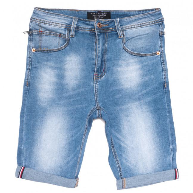 3007 Mark Walker шорты джинсовые мужские синие стрейчевые (29-38, 8 ед.) Mark Walker: артикул 1109828