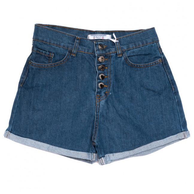 0777 Geronis шорты джинсовые женские синие коттоновые (25-30, 8 ед.) Geronis: артикул 1110272