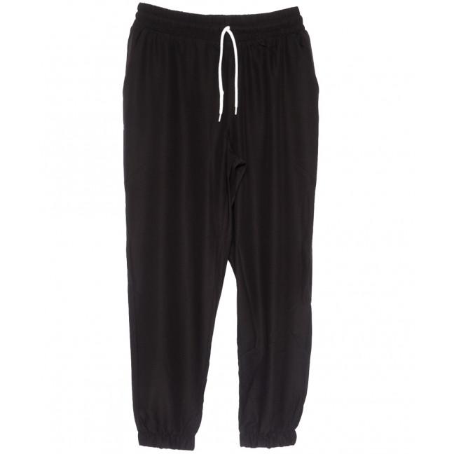 0237-50 черные Exclusive брюки женские спортивные батальные стрейчевые (50-54, 3 ед.) Exclusive: артикул 1109757