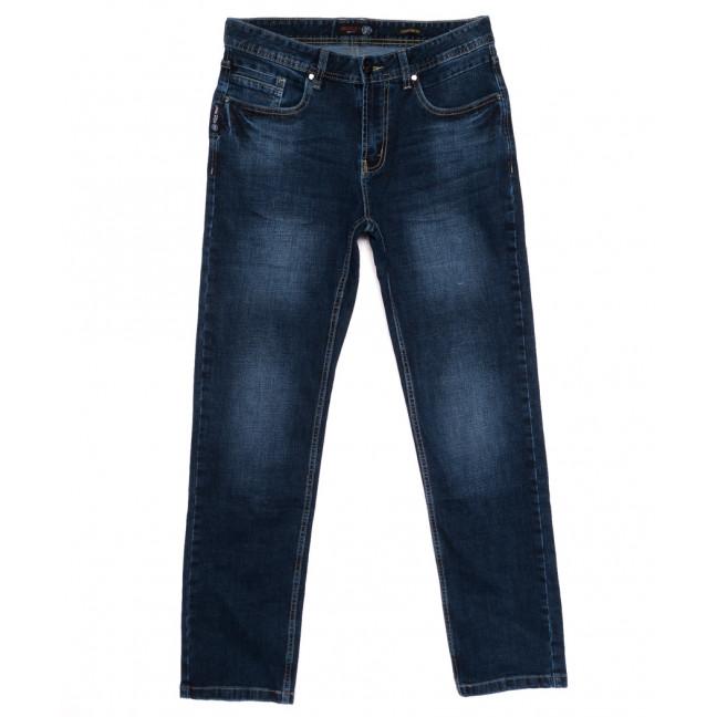 0921-3 R Relucky джинсы мужские полубатальные синие осенние стрейчевые (32-42, 8 ед.) Relucky: артикул 1110576