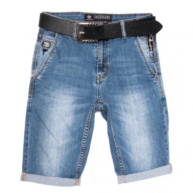6058 Resalsa шорты джинсовые мужские синие стрейчевые (29-36, 7 ед.) Resalsa: артикул 1109680
