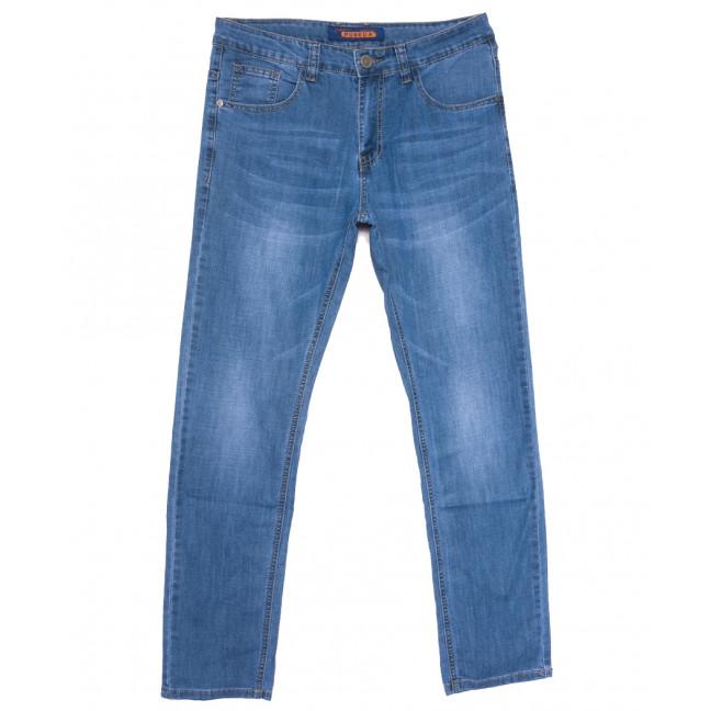 8038 Pobeda джинсы мужские полубатальные синие весенние стрейчевые (32-38, 8 ед.) Pobeda: артикул 1109644