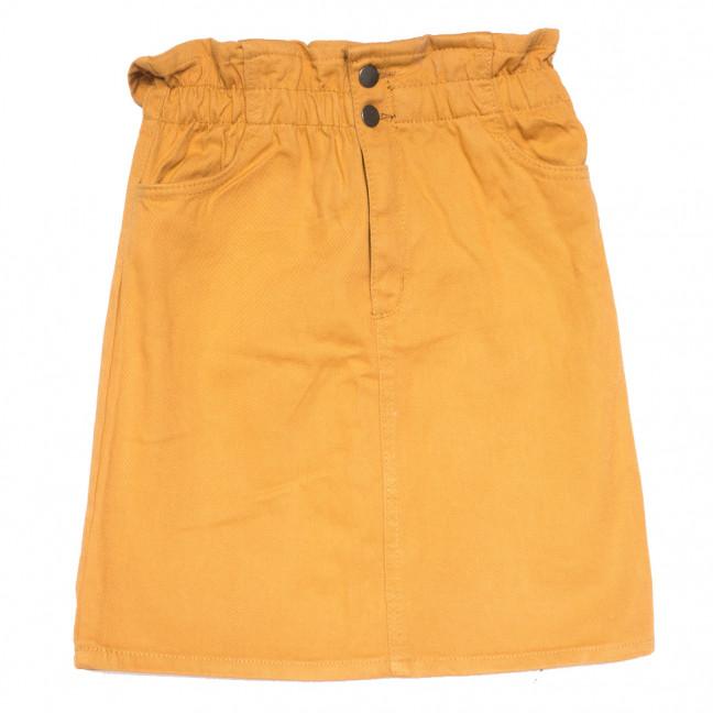 0227 горчичная Defile юбка джинсовая коттоновая (34-40,евро, 7 ед.) Defile: артикул 1109967