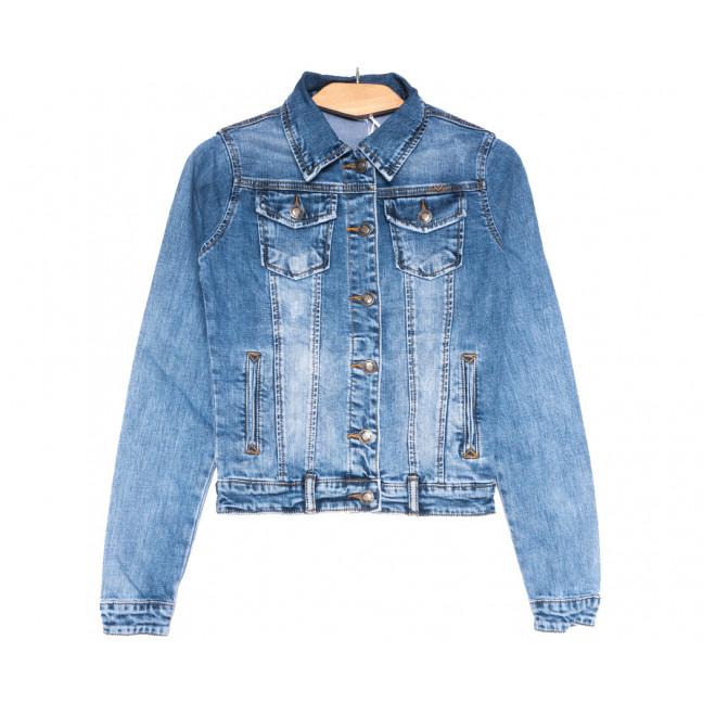 0350 Zijinyan куртка джинсовая женская синяя весенняя стрейчевая (S-3XL, 6 ед.) Zijinyan: артикул 1110007