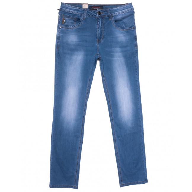 16003 Feerars джинсы мужские полубатальные синие весенние стрейчевые (32-38, 8 ед.) Feerars: артикул 1109635