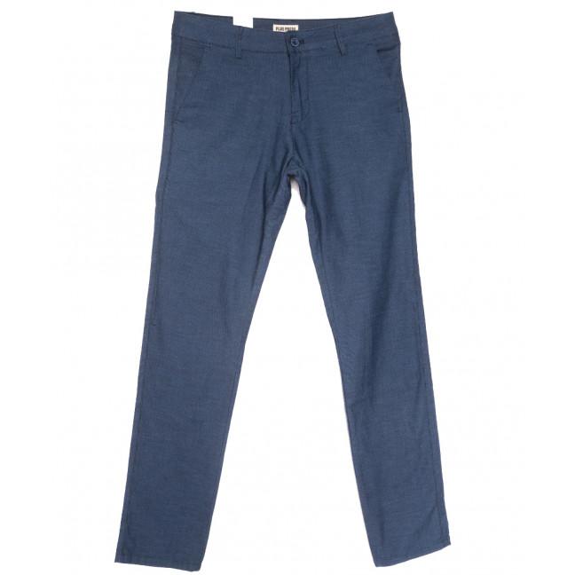 0855 Plus Press брюки мужские синие весенние стрейчевые (29-36, 8 ед.) Plus Press: артикул 1110011