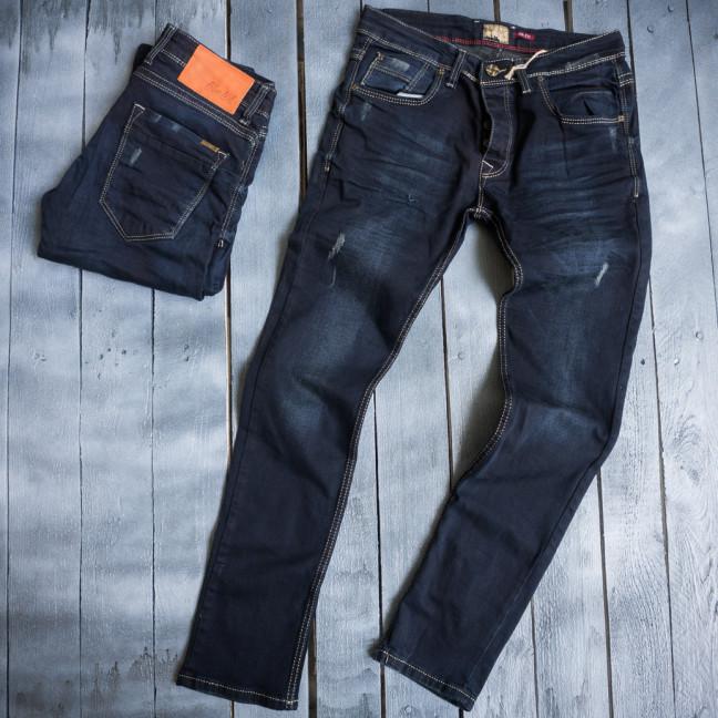 3850 Blue Nil джинсы мужские с царапками весенние стрейчевые (29-36, 8 ед.) Blue Nil: артикул 1109416
