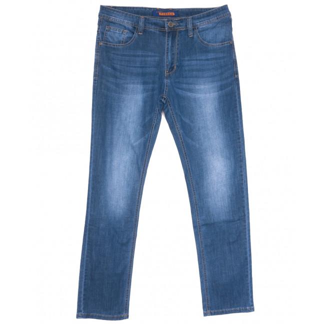 8036 Pobeda джинсы мужские полубатальные синие весенние стрейчевые (32-38, 8 ед.) Pobeda: артикул 1109662