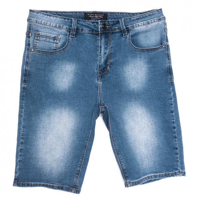 3004 Mark Walker шорты джинсовые мужские полубатальные синие стрейчевые (32-42, 8 ед.) Mark Walker: артикул 1109836