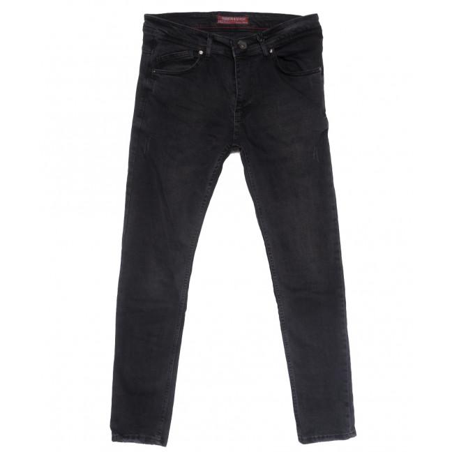 6501 Fashion Red джинсы мужские полубатальные с царапками серые весенние стрейчевые (32-40, 8 ед.) Fashion Red: артикул 1109905