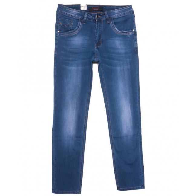 16006 Feerars джинсы мужские полубатальные синие весенние стрейчевые (32-40, 8 ед.) Feerars: артикул 1109631