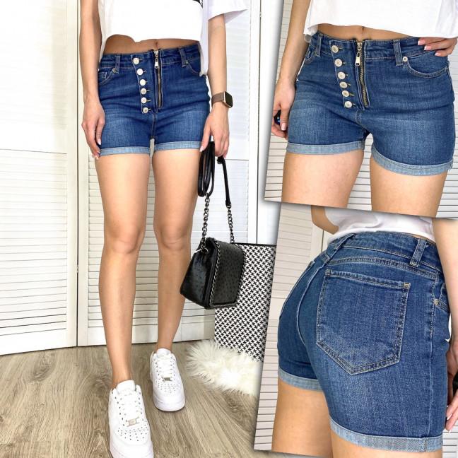 2788 Xray шорты джинсовые женские на змейке стрейчевые (34-42, 5 ед.) XRAY: артикул 1109762