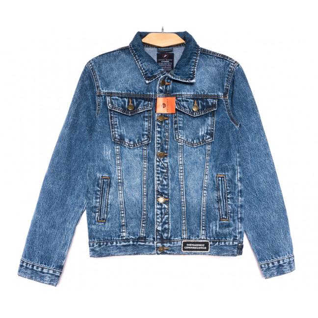 0224-1 A Relucky куртка джинсовая женская синяя осенняя коттоновая (S-XXL, 6 ед.) Relucky: артикул 1110374